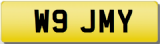 JIMMY JAMIE JIM W Private Registration Cherished Number Plate